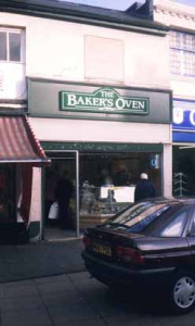 A Bakers Oven Outlet in Willenhall in 1995