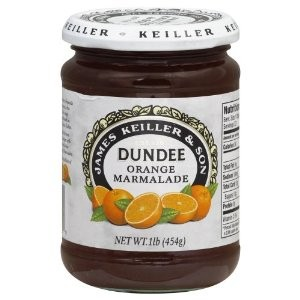 A modern day jar of Keiller orange marmalade (for export only!)