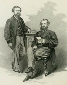 Christopher Pond (left) and Felix William Spiers (right)