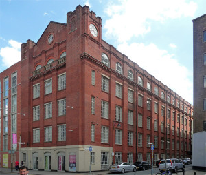 St George's Mills in Leicester