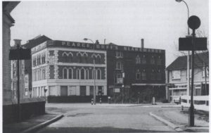 The Pearce Duff factory on Rouel Road/Spa Road, Bermondsey